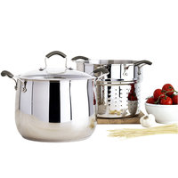 Epicurious 3-pc. 10-qt. Stainless Steel Pasta Cooker