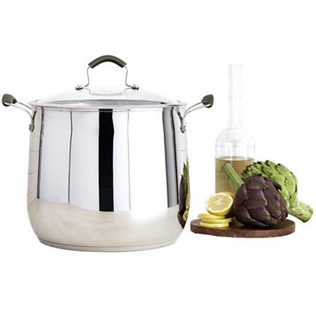 Epicurious 16-qt. Stainless Steel Stock Pot with Lid