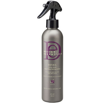Design Essentials Detail Extra-Hold High-Gloss Setting Lotion