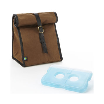 Medport Fit & Fresh Men's Classic Lunch Bag with Ice Pack