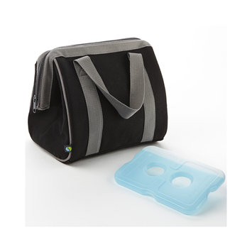 Medport Fit & Fresh Big Phil Insulated Lunch Bag in Black