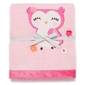 Triboro Quilt Co. Carter's Girly Owl Valboa Blanket