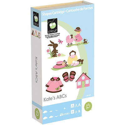 Cricut Shape Cartridge-Kate's ABC's