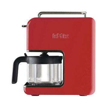 Delonghi kMix 5 Cup Coffee Maker Color: Red