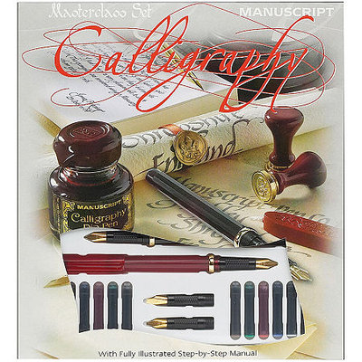 Asstd National Brand Manuscript Masterclass Calligraphy Set