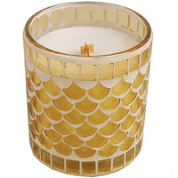 WoodWick Mosaic Coconut Hibiscus Candle