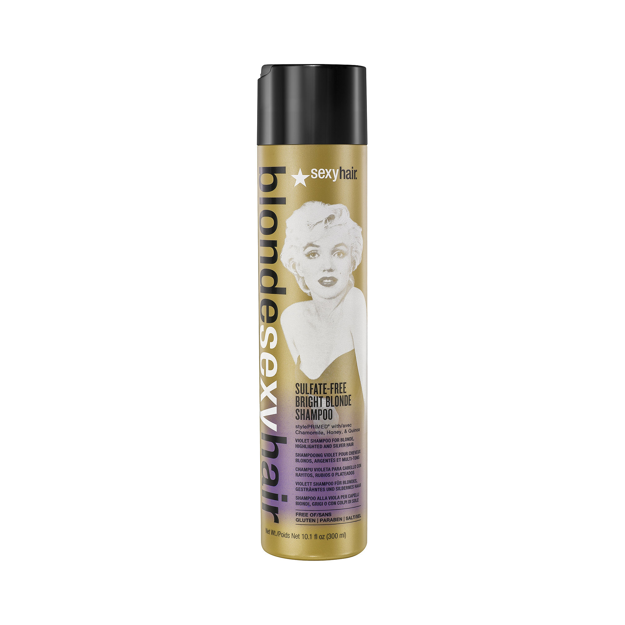 Blonde Sexy Hair Sulfate-Free Bright Blonde Shampoo - 10.1 oz