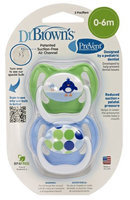 Dr Brown's Dr. Brown's PreVent Pacifier - Blue - Stage 1