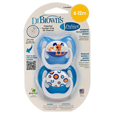 Dr Brown's Dr. Brown's PreVent Pacifier - Blue - Stage 2 - 1 ct.