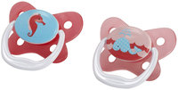 Dr Brown's Dr. Brown's 2pk PreVent Contoured-Shield Pacifier Size 1, 0-6 Months