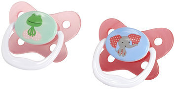 Dr Brown's Dr. Brown's 2pk PreVent Contoured-Shield Pacifier Size 2, 6-12 Months