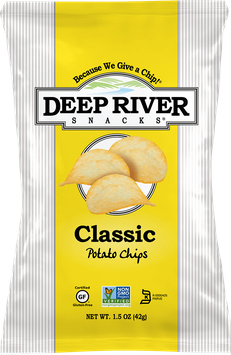 Deep River Snacks Kettle Cooked Potato Chips Rosemary & Olive Oil