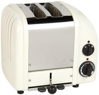 Dualit Canvas-White NewGen 2-Slice Toaster