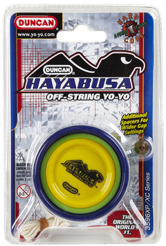Duncan Hayabusa - Green/Blue - 1 ct.