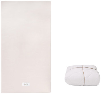Babyletto Pure Core Mattress Pad with Organic Cover Size: 3