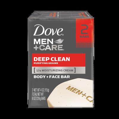 Dove Men+Care Deep Clean Body And Face Bar