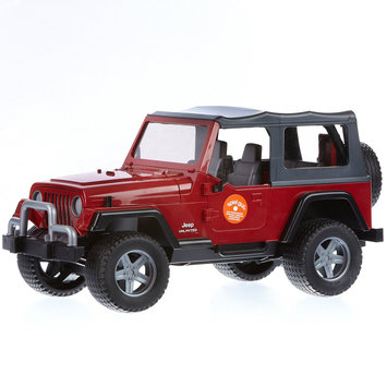 Bruder Jeep Wrangler Unlimited- Red - 1 ct.