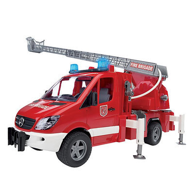 Bruder Toys Bruder Mercedes Benz Sprinter Fire Engine - 1 ct.
