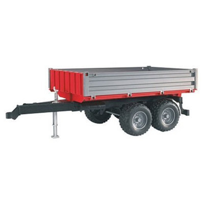 Bruder Tipping Trailer With Grey Sides - 1 ct.