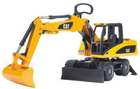 Bruder Caterpillar Small Excavator Multi-Colored