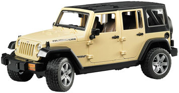 Bruder Jeep Wrangler Unlimited Rubicon by Bruder