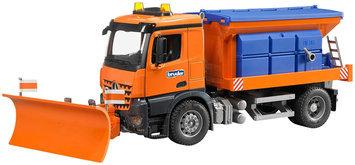 Bruder Arocs Snow Plow Truck by Bruder
