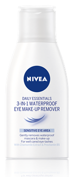NIVEA 3 In 1 Waterproof Makeup Remover - Daily Essentials