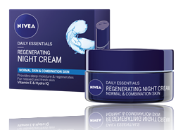 NIVEA Daily Essentials Regenerating Night Face Cream