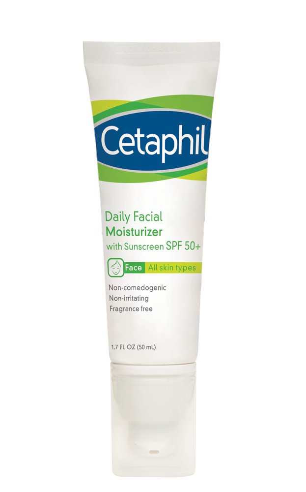 Cetaphil Daily Facial Moisturizer with SPF 50+