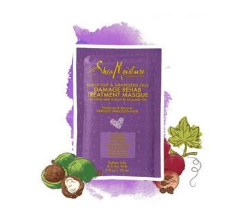 SheaMoisture Kukui Nut & Grapeseed Oils Damage Rehab Treatment Masque