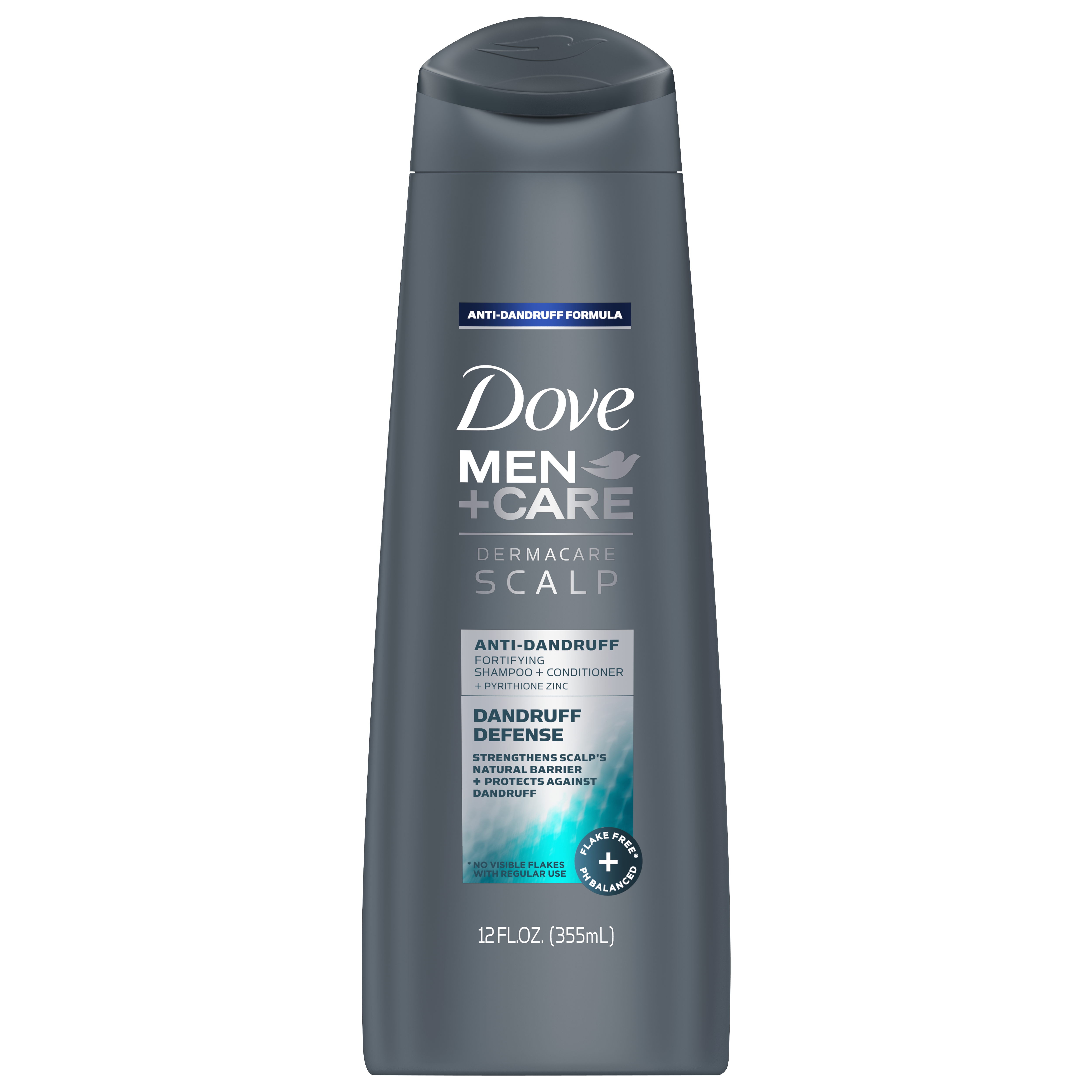 Dove Men+Care Clean Comfort 2-in-1 Dandruff Defense Shampoo and Conditioner