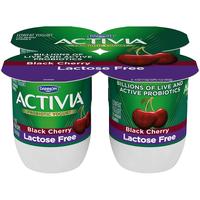 Activia® Black Cherry Probiotic Lactose Free Yogurt