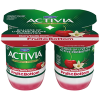Activia® Fruit On The Bottom Strawberry Raspberry