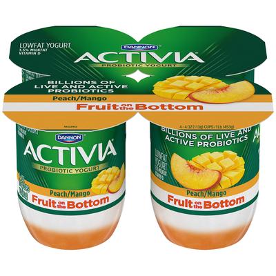 Activia® Fruit On The Bottom Peach Mango