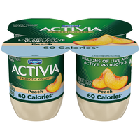 Activia® Light Peach Probiotics Nonfat Yogurt