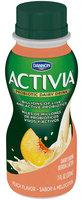 Dannon Activia Peach Probiotic Drink