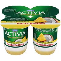 Dannon Activia Pineapple and Coconut Fruit Fusion Probiotic Lowfat Yogurt