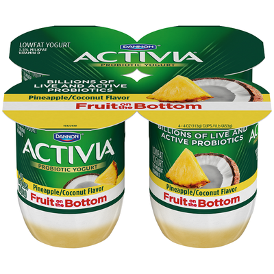 Activia® Fruit On The Bottom Pineapple Coconut