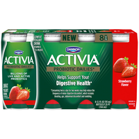 Dannon Activia Strawberry Lowfat Yogurt Drink