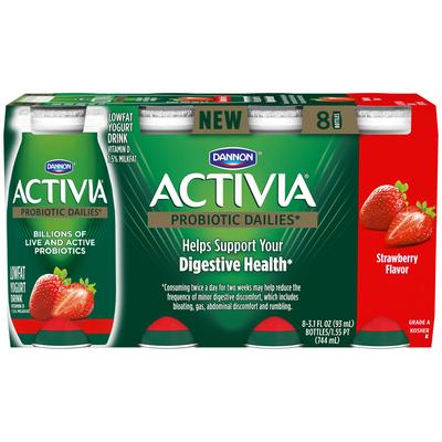 Activia® Strawberry Lowfat Yogurt Drink