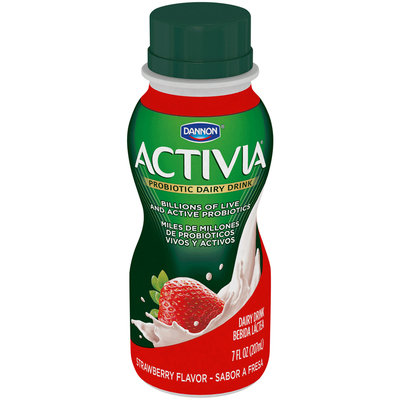 Dannon Activia Strawberry Probiotic Drinks