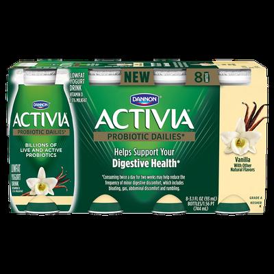 Activia® Dailies Vanilla Probiotic Drink