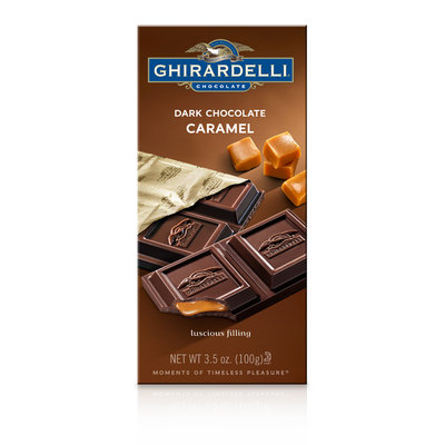 Ghirardelli Chocolate Dark Chocolate Caramel Bar