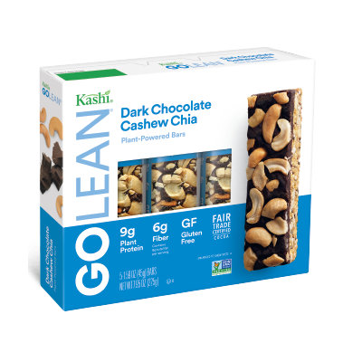 Kashi® GOLEAN Dark Chocolate Cashew Chia Plant-Powered Bar