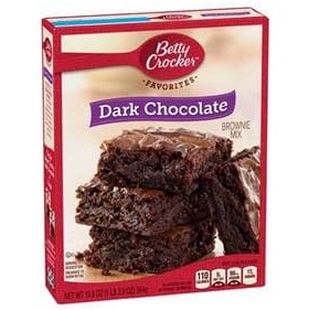 Betty Crocker™ Dark Chocolate Brownie Mix