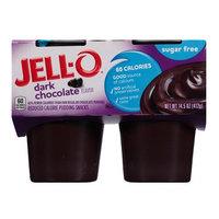 JELL-O Dark Chocolate Reduced Calorie Pudding Snacks
