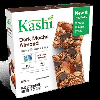 Kashi® Chewy Granola Bars Dark Mocha Almond
