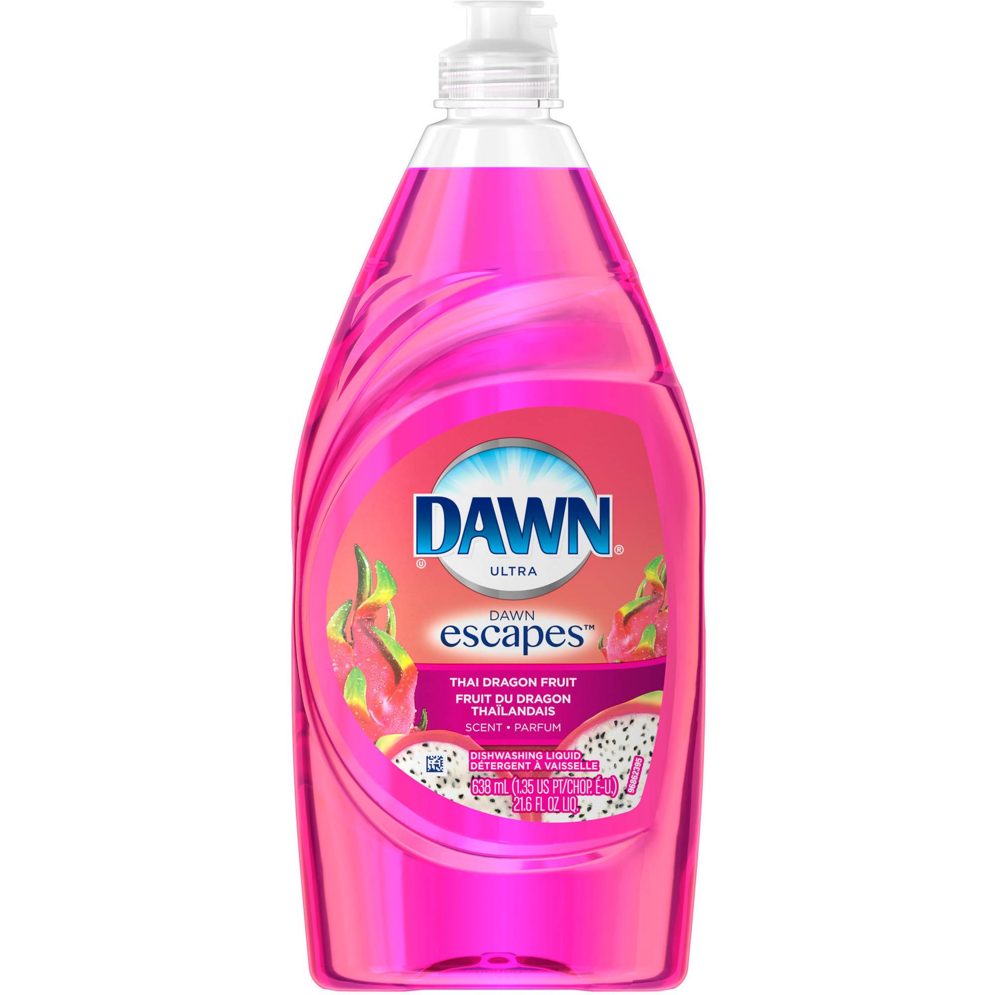 Dawn Escapes Dishwashing Liquid Thai Dragon Fruit