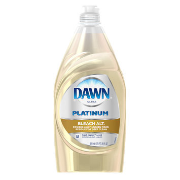 Dawn Platinum Bleach Alternative Dishwashing Liquid Fresh Rapids
