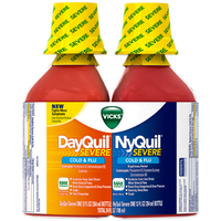 DayQuil™/Nyquil™ SEVERE Berry Relief Liquid Co-Pack